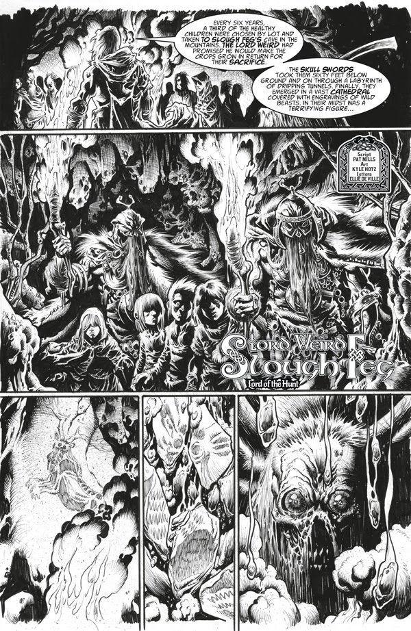 2000AD Villains Page 5