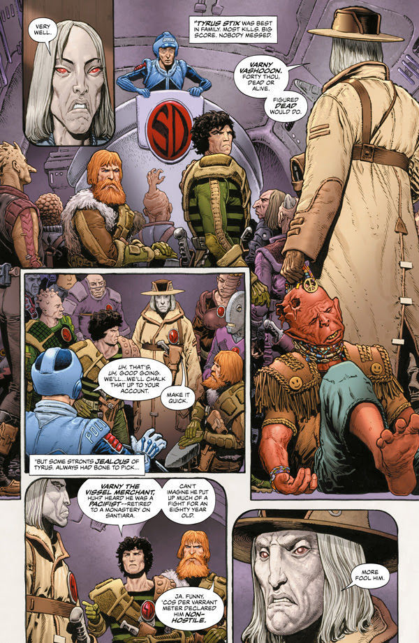 2000AD Villains Page 8