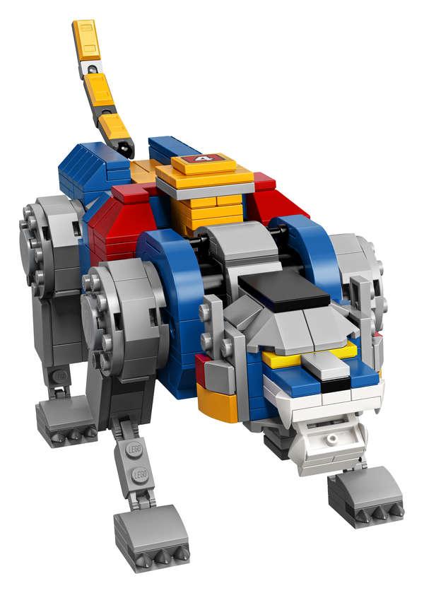 LEGO Voltron Blue Lion