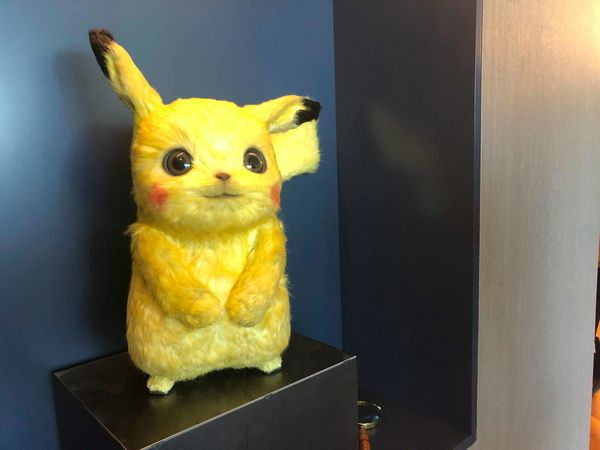 Detective Pikachu models