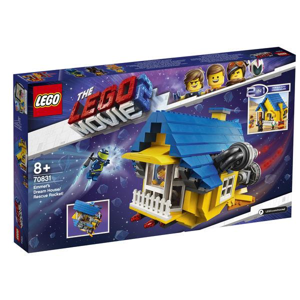 Emmet's Dream House/Rescue Rocket