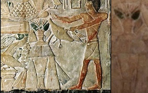 12 ancient paintings containing surprising evidence of aliens