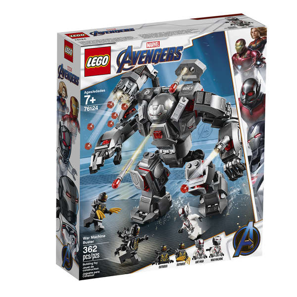 LEGO War Machine Buster