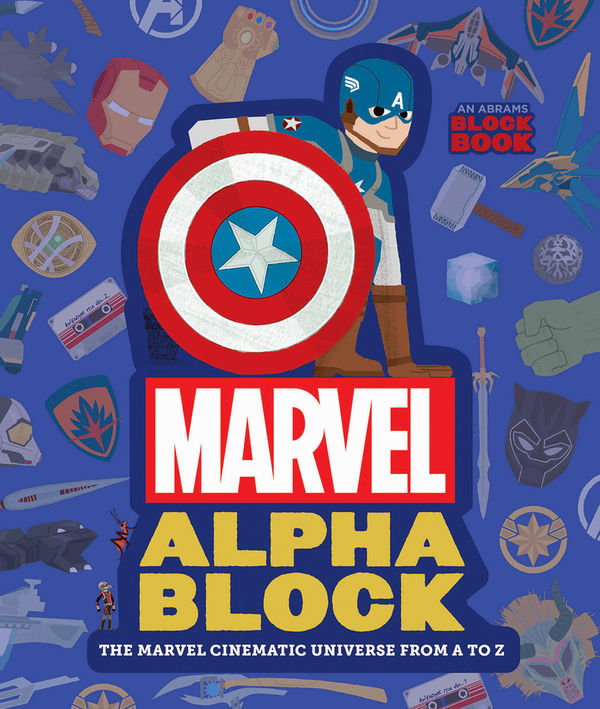 Marvel Alphablock front cover