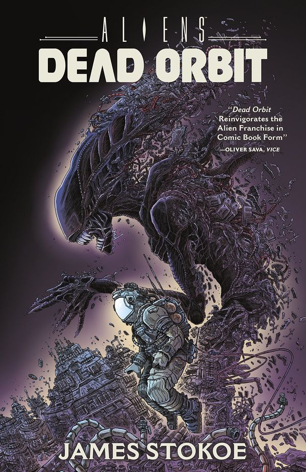 Aliens: Dead Orbit Trade Cover