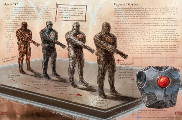 DC Comics Anatomy of a Metahuman, Darkseid