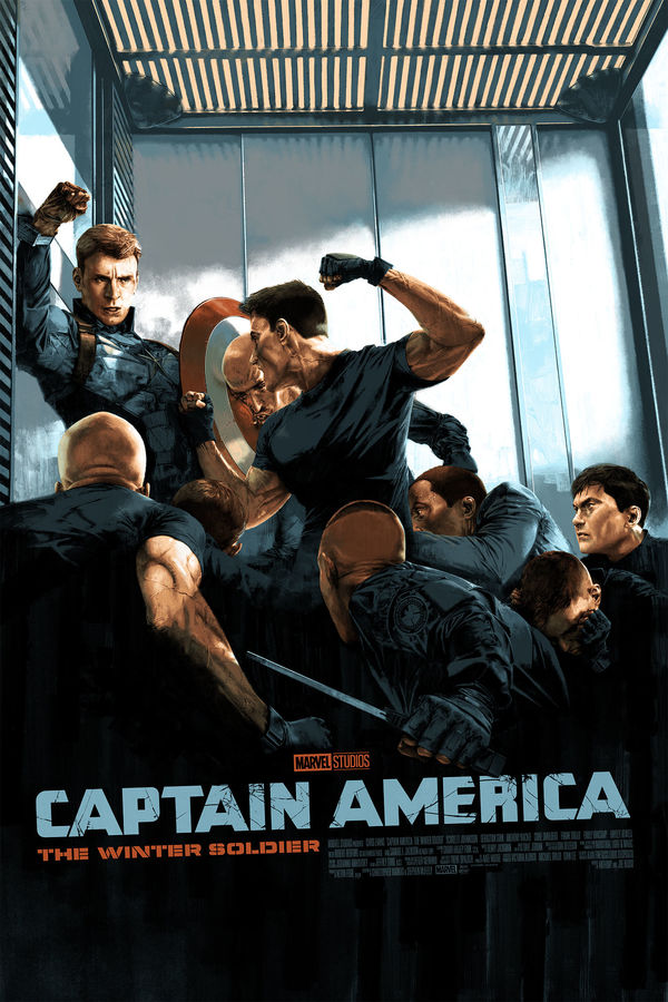 Captain America: The Winter Soldier Mondo Gallery Presents MARVEL STUDIOS: The First Ten Years