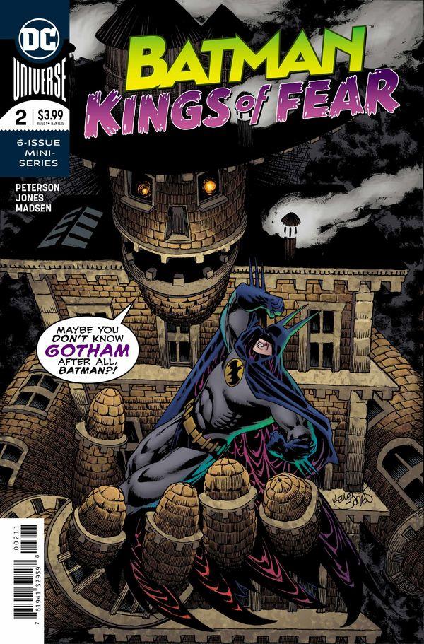 Batman Kings of Fear #2 Cover