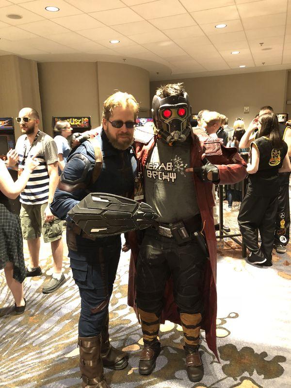 Captain America & Starlord