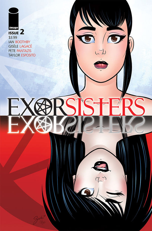 Exorsisters #2 cover