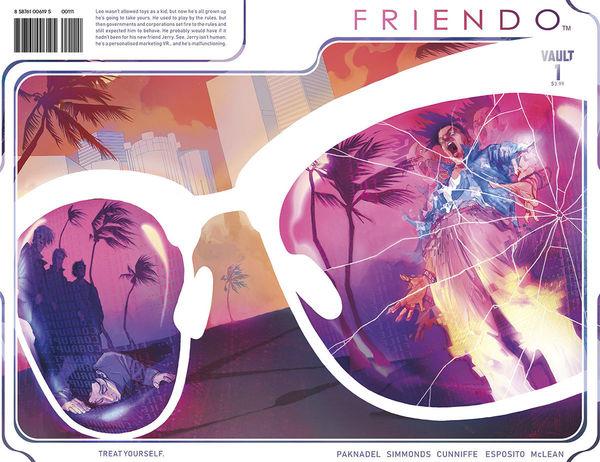 Friendo #1 Wraparound Cover