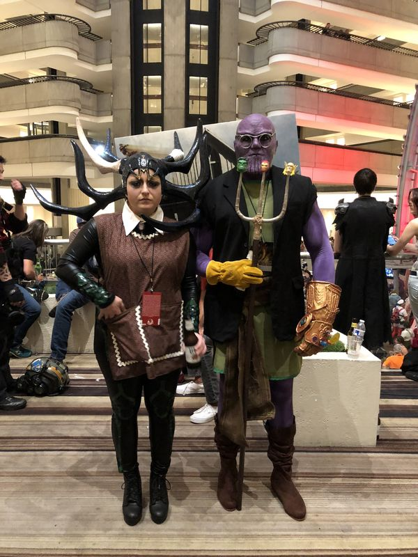 Farmer Thanos & Hella