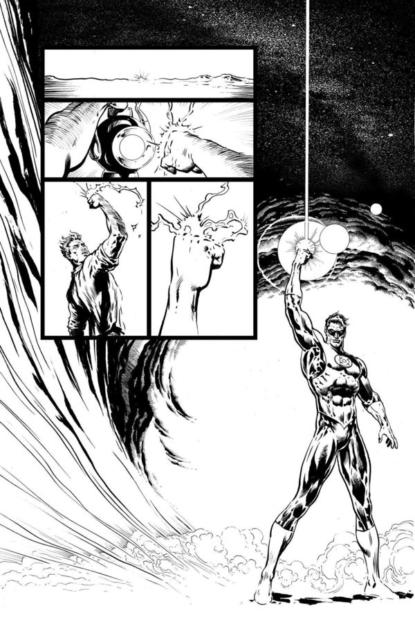 The Green Lantern Interior Page 02