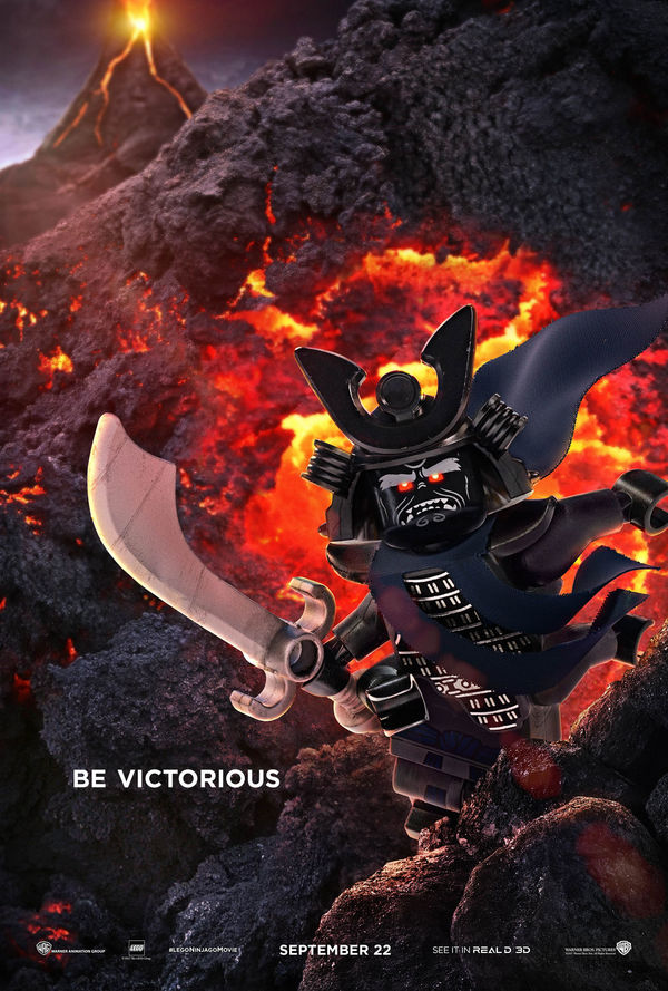 LEGO Ninjago Movie unveils new character posters, official
