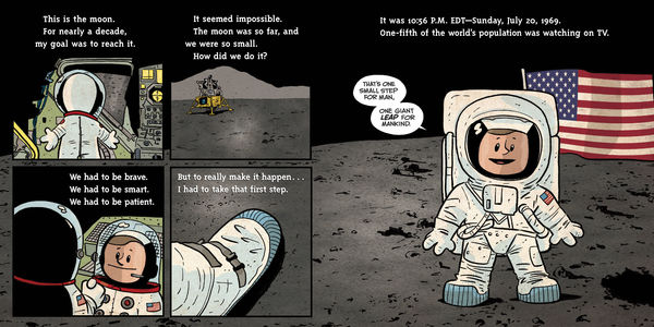 I Am Neil Armstrong Lands on Moon