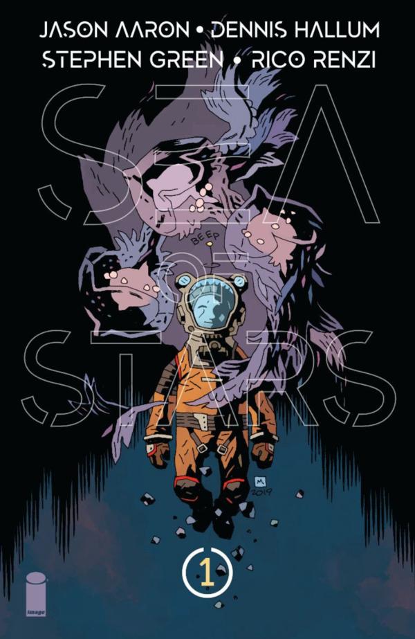 Sea of Stars 1 2 3 4 5 Complete Comic Lot Run Set Jason Aaron Hallum Image