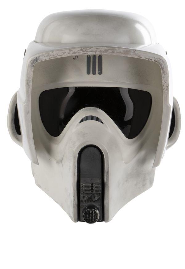 Star Wars Return of the Jedi Imperial Scout Trooper helmet