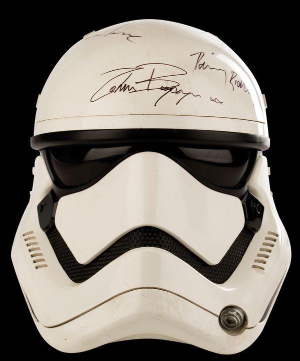 Stormtrooper helmet from Star Wars The Force Awakens