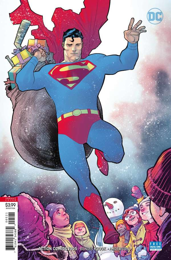 Action Comics #1005 Variant Cover