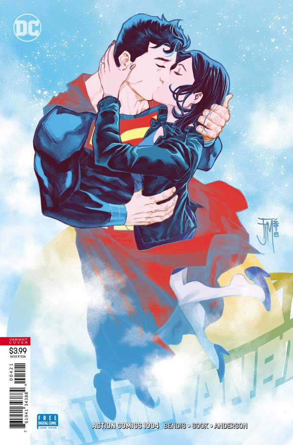 Action Comics 1004 Francis Manapul Cover