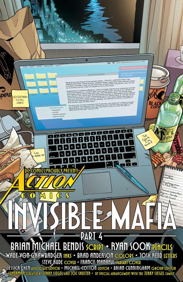 Action Comics #1004 Page 1