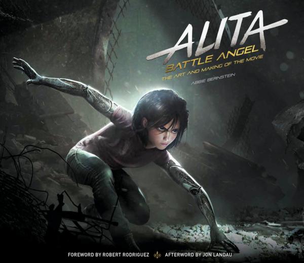 Alita Battle Angel Main Cover