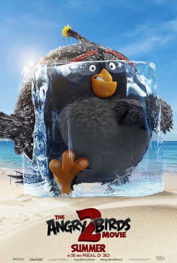 The Angry Birds Movie 2 Bomb poster