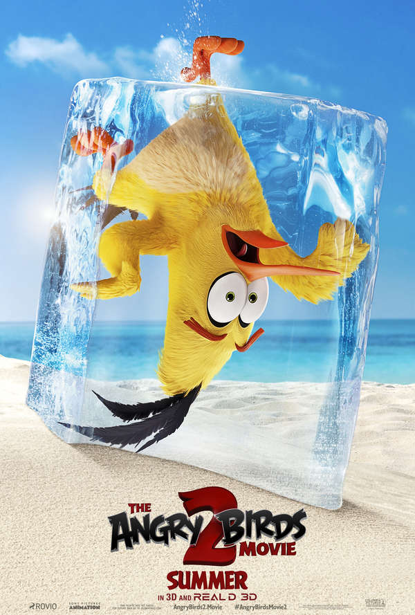 The Angry Birds Movie 2 Chuck poster