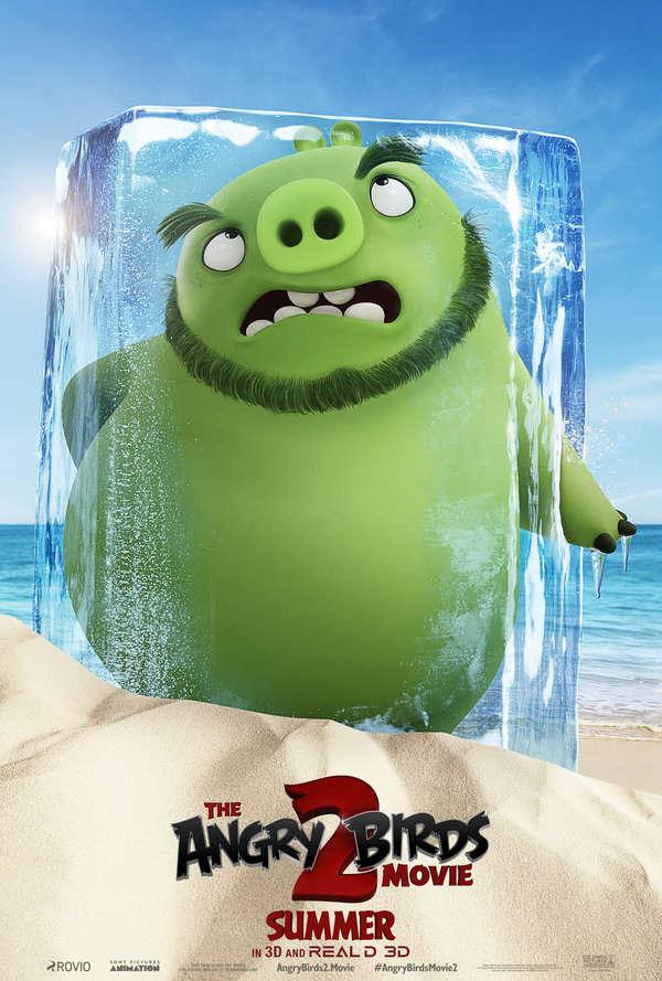 The Angry Birds Movie 2 Leonard poster
