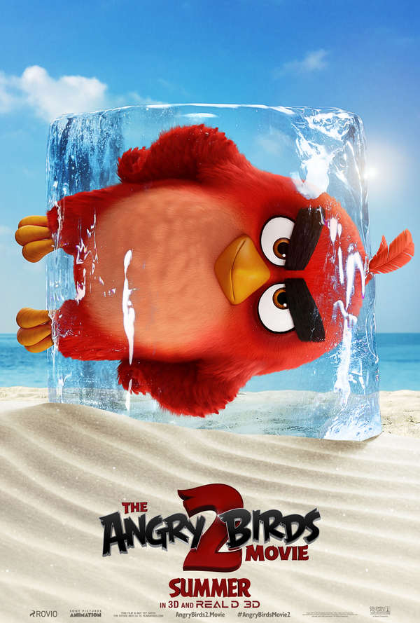 The Angry Birds Movie 2 Red poster