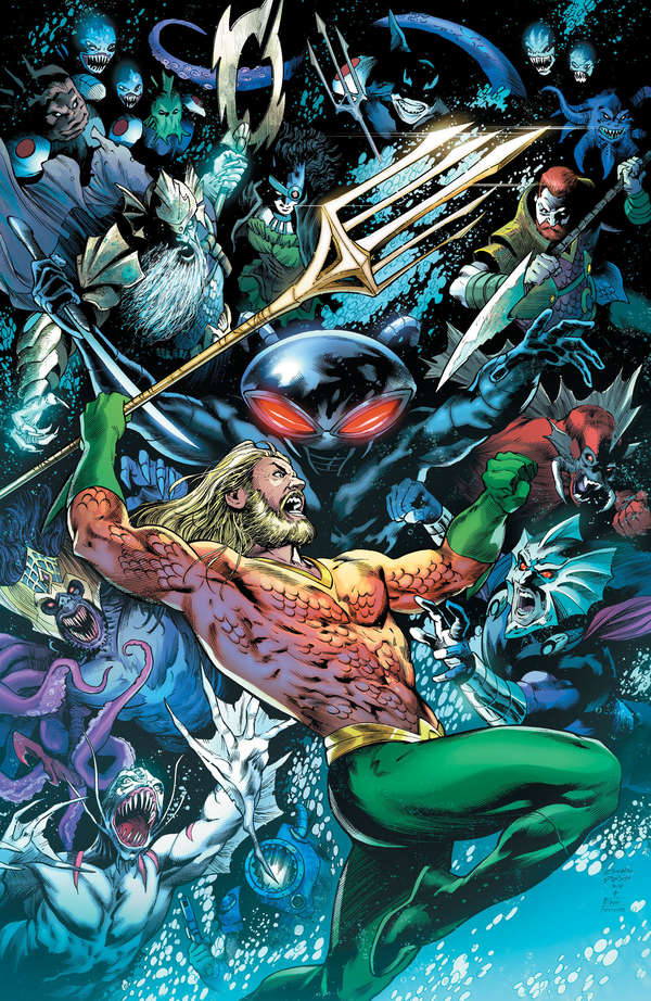 Aquaman #42 Cover Unlettered