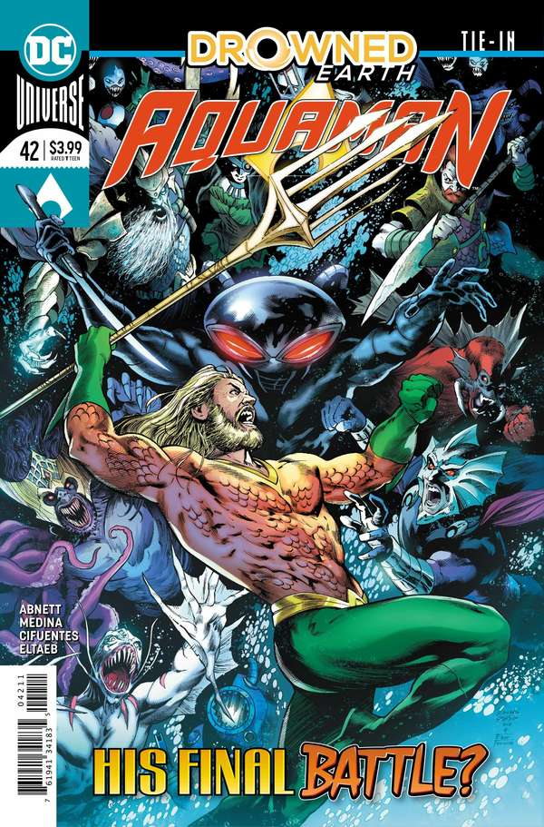 Aquaman #42 Cover