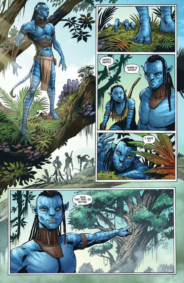 Avatar Tsu'tey's Path #1 Page 9