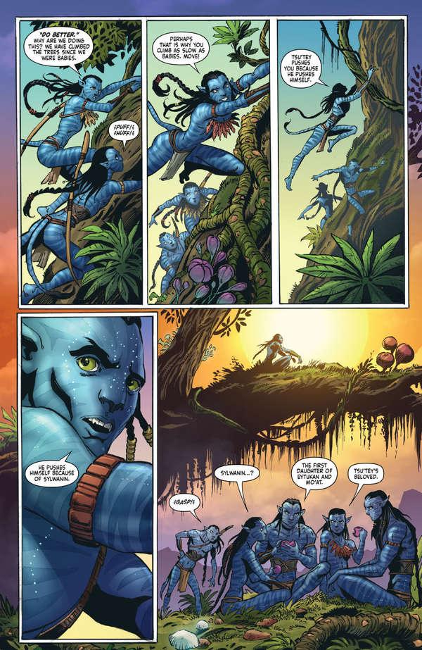 Avatar Tsu'tey's Path #1 Page 10