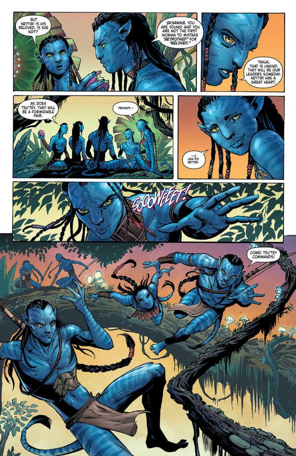 Avatar Tsu'tey's Path #1 Page 11