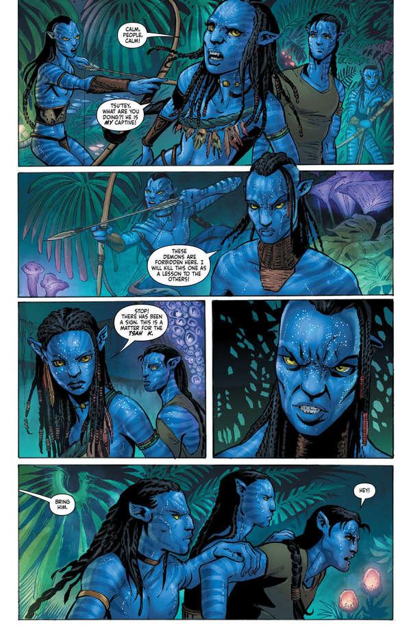 Avatar Tsu'tey's Path #1 Page 15