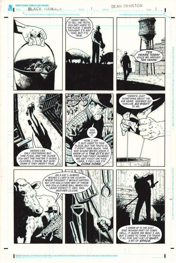 Black Hammer DC Page 1