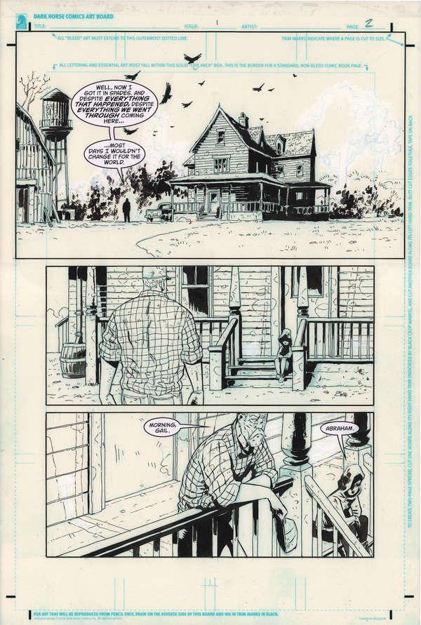 Black Hammer DC Page 2