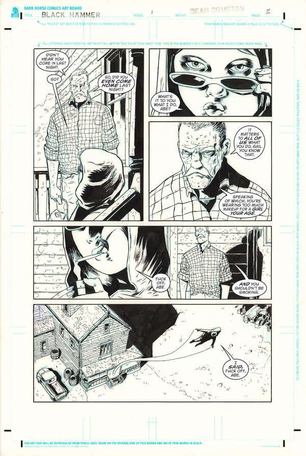 Black Hammer DC Page 3