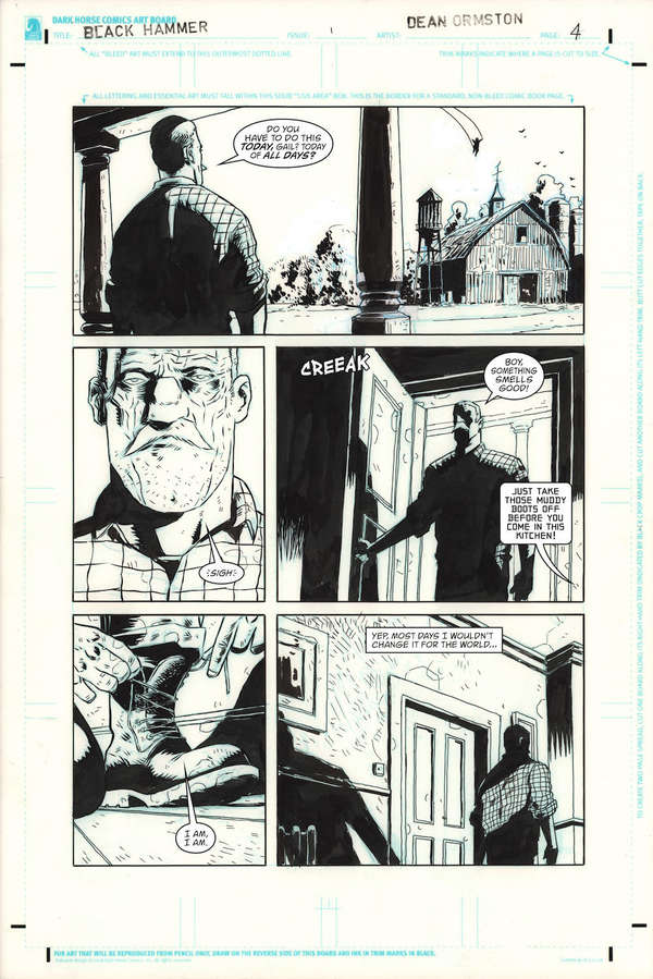 Black Hammer DC Page 4