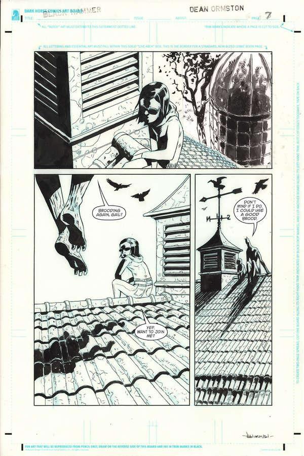Black Hammer DC Page 7