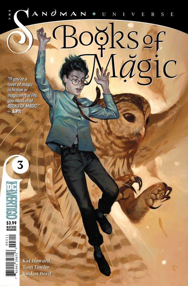 Books of Magic 3 cover