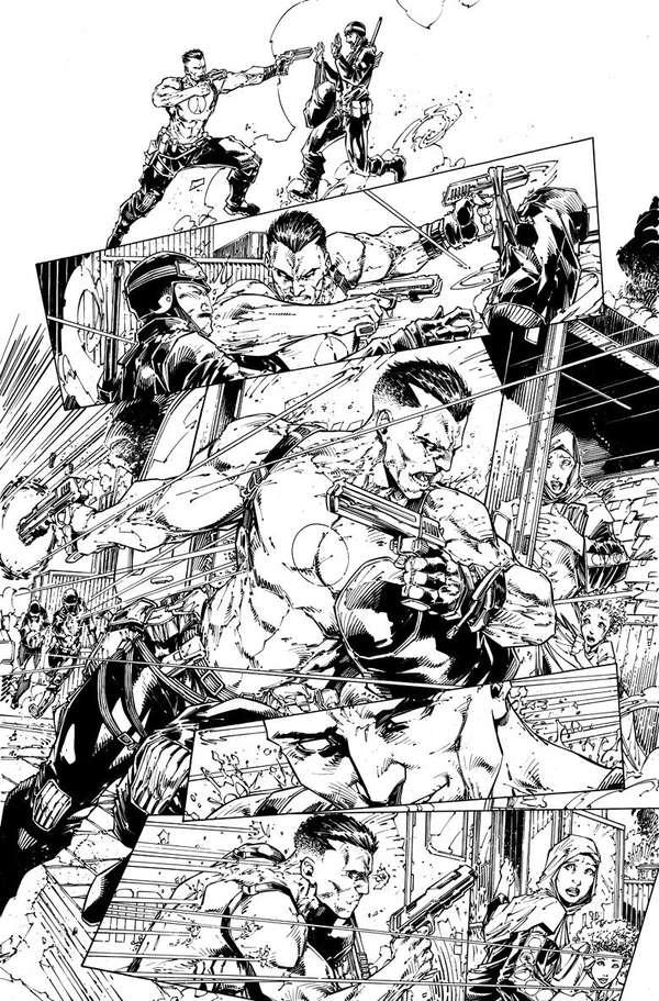Bloodshot 1 Page 6 BW