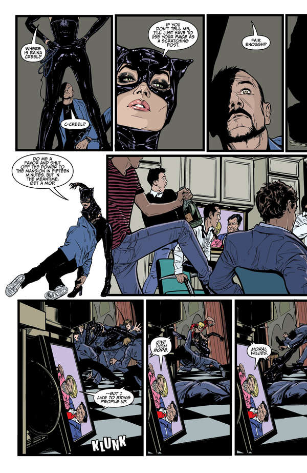 Catwoman #6 Page 2