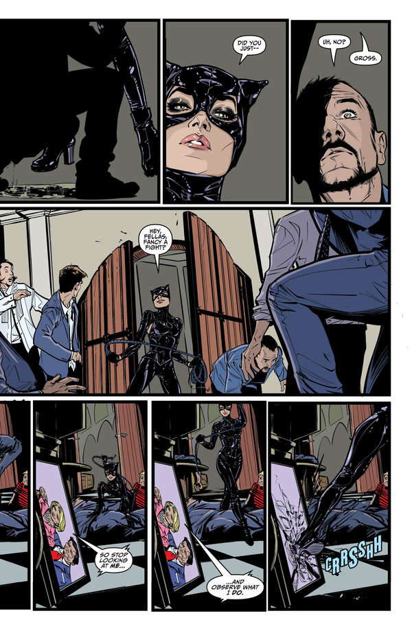 Catwoman #6 Page 3