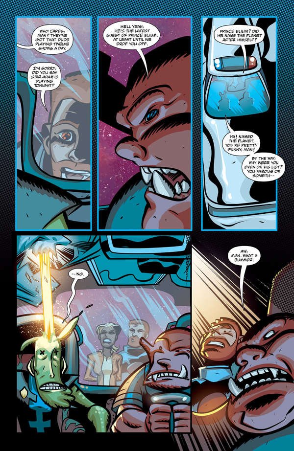 Cave Carson has an Interstellar Eye #5 Page 3