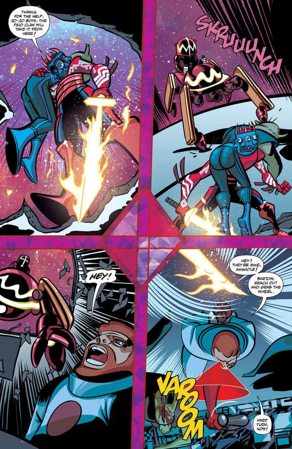Cave Carson has an Interstellar Eye #5 Page 4