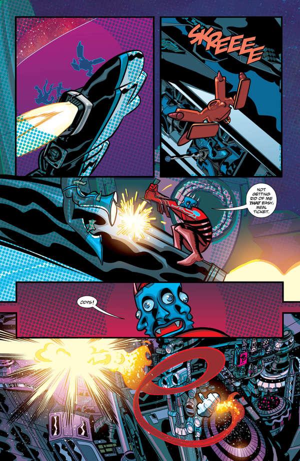 Cave Carson has an Interstellar Eye #5 Page 5