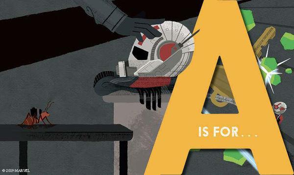 Marvel Alphablock Ant-Man