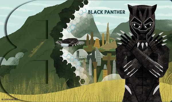 Marvel Alphablock Black Panther